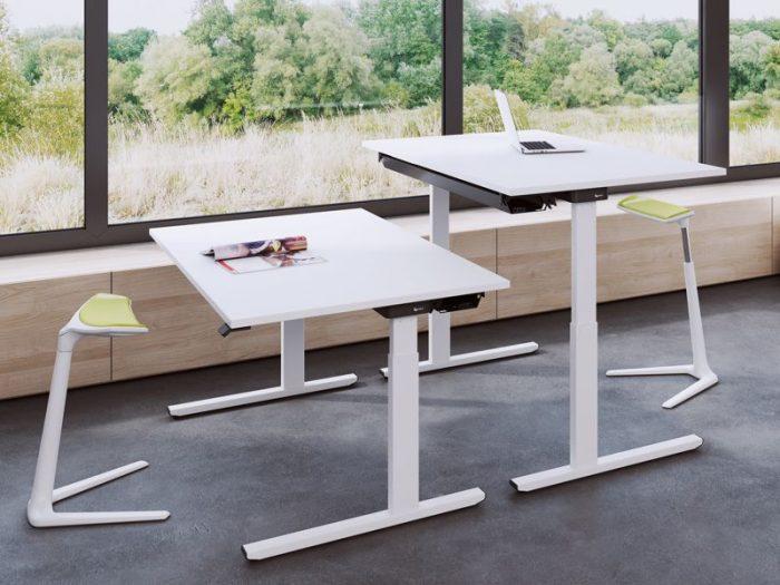 OKA EasyUp höhenverstellbar Schreibtisch