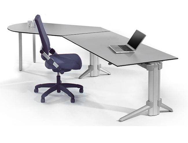 Leuwico Tisch höhenverstellbar motorisch GO²Handverstellung