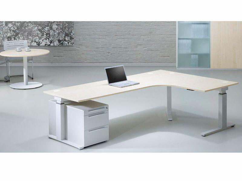 Leuwico SPINE² höhenverstellbarer Schreibtisch