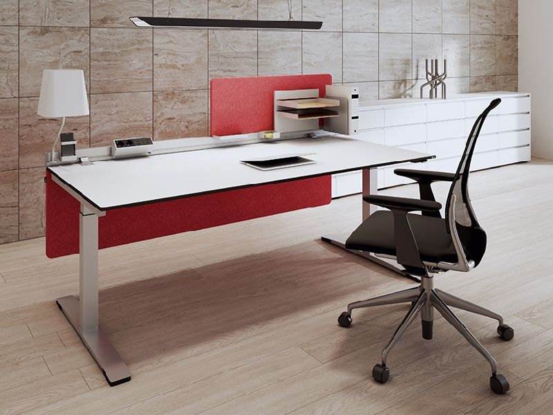 OKA Desktop Tischaufsatz Trennwand Akustik
