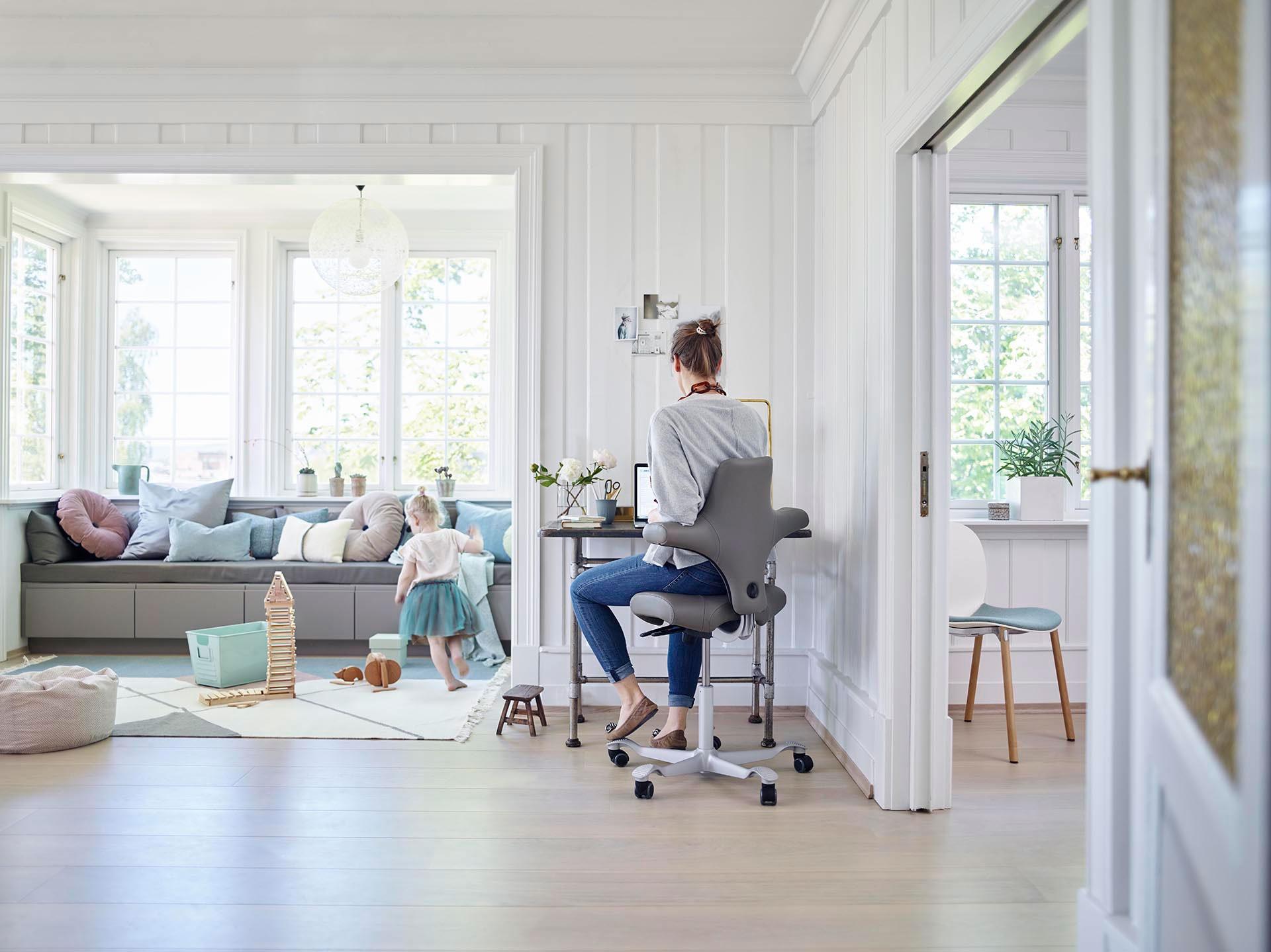 HAG Capisco 8106 ergonomisch Stuhl Bürostuhl Home Office