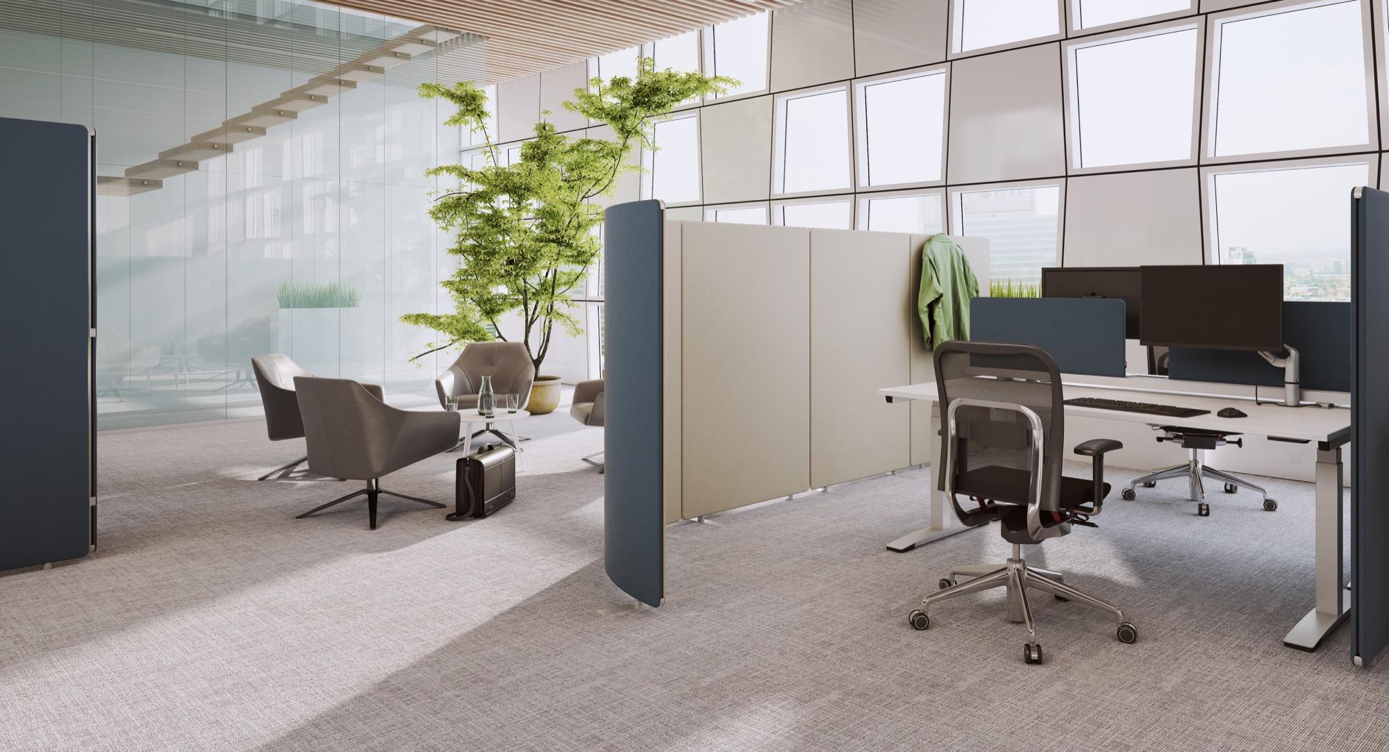 OKA SPACELINE Arbeitsplatz Schreibtisch Doppelbüro