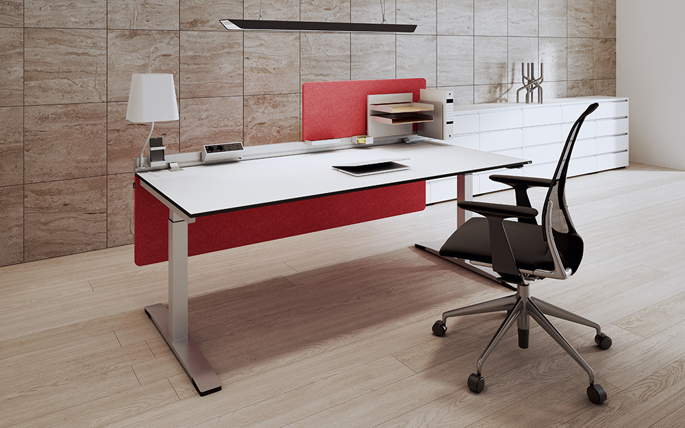 OKA DeskTOP Arbeitsplatz Einzelbüro