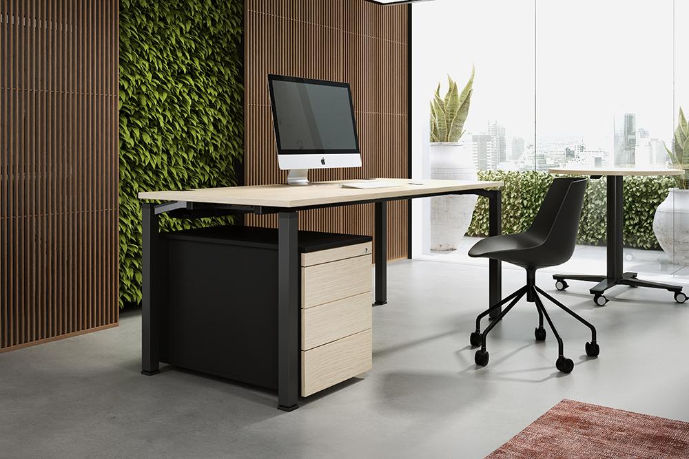 OKA R60 Q50 Einzelbüro Arbeitsplatz Tisch Schreibtisch