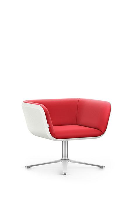 Interstuhl HUB HU100 Sessel Lounge Wartebereich
