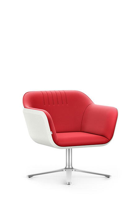 Interstuhl HUB HU102 Sessel Lounge Wartebereich