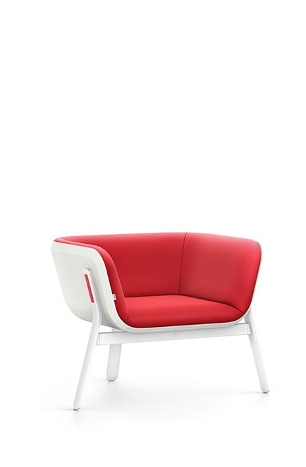 Interstuhl HUB HU130 Sessel Lounge Wartebereich