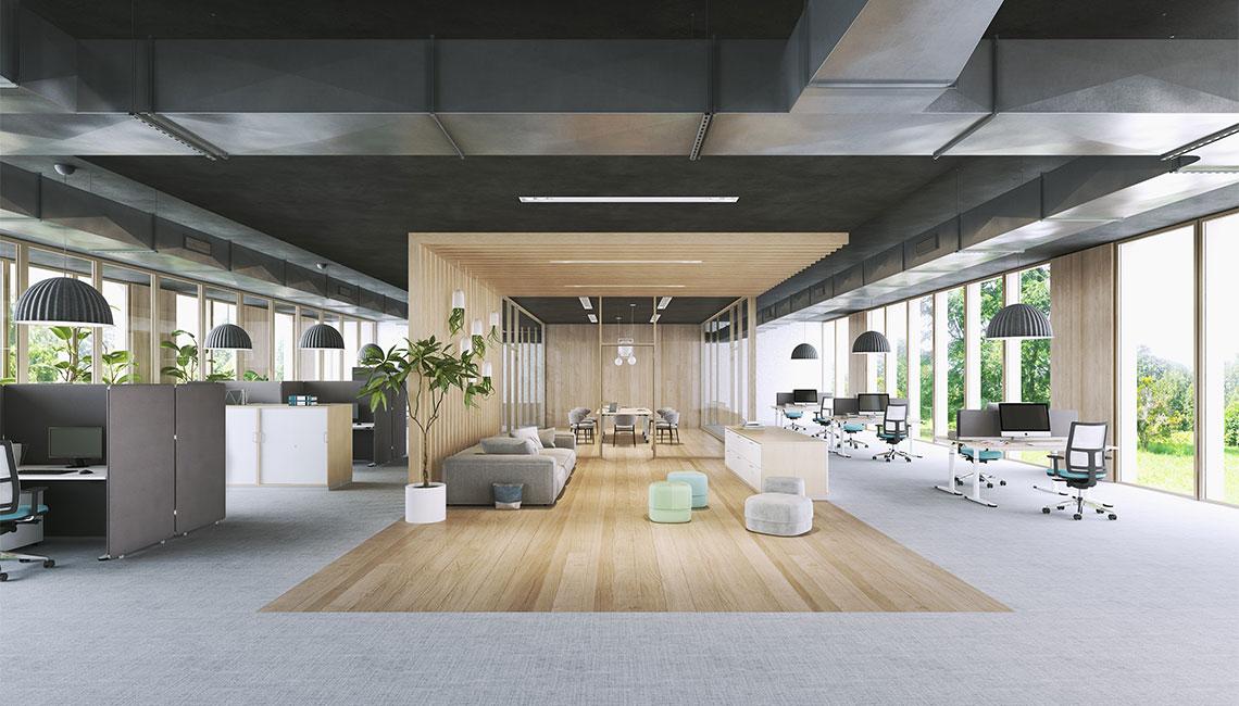 OKA Räume Sozialräume Lobby Kommunikation