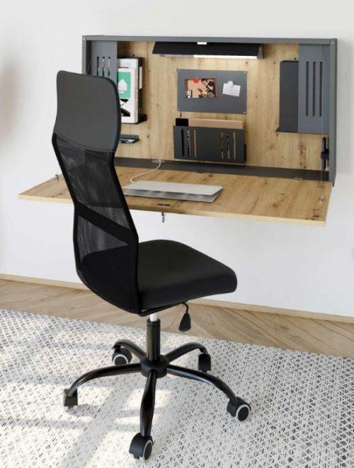 Home Office Schreibtisch Arbeitstisch Wandschreibtisch Klapptisch abklappbar