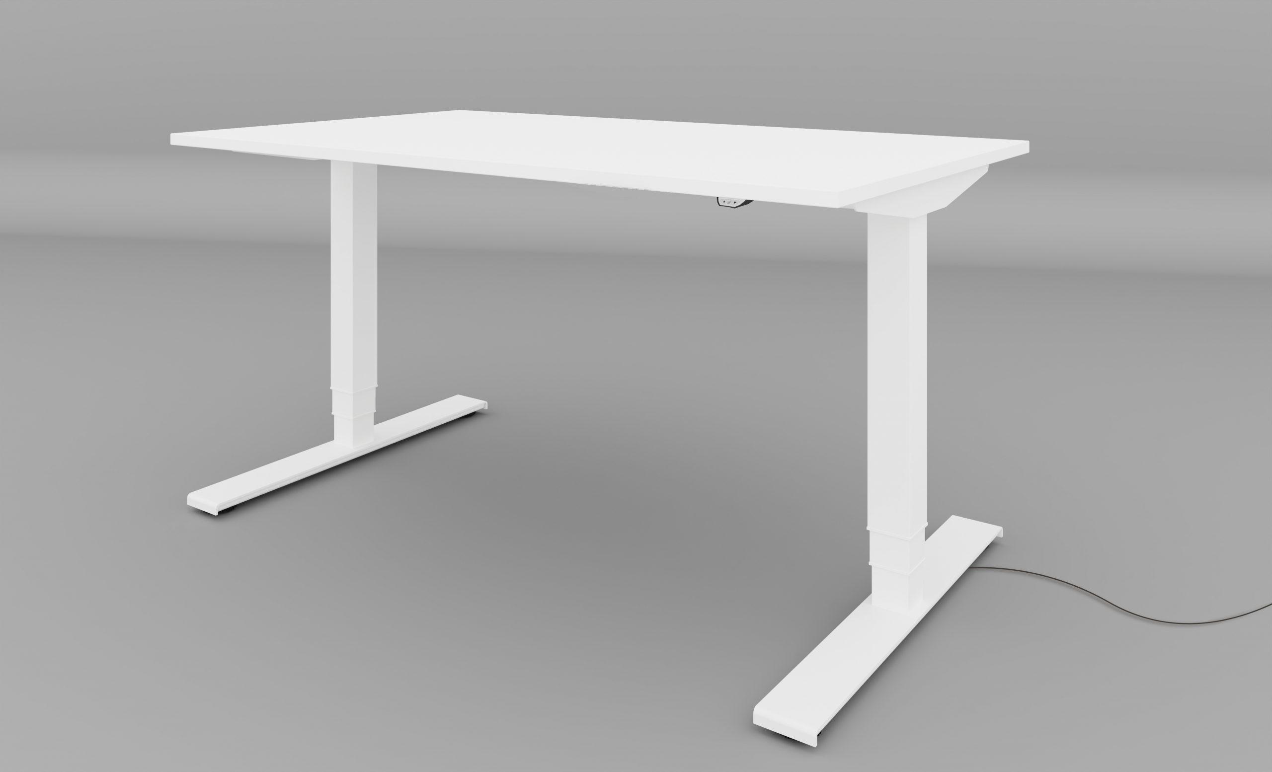leuwico SPINE³ Schreibtisch höhenverstellbar motorisch elektrisch Home-Office Tisch