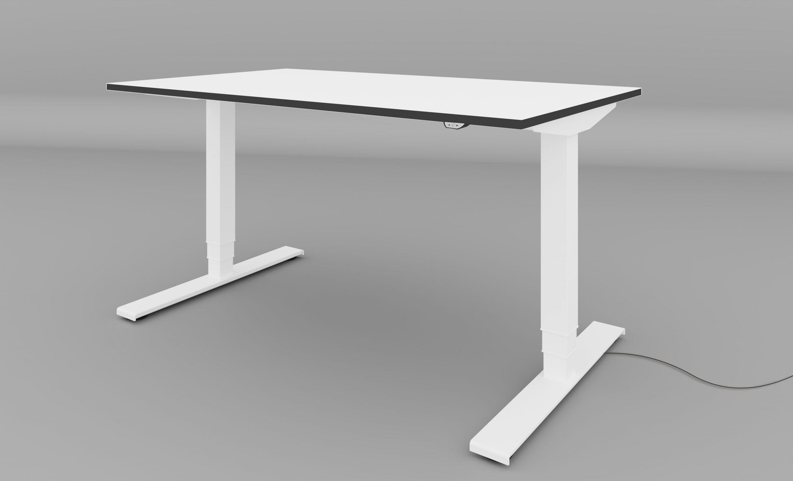 leuwico SPINE EW Schreibtisch höhenverstellbar motorisch elektrisch Home-Office Tisch