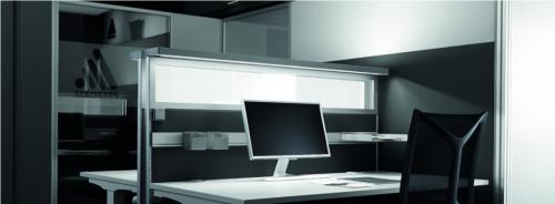 Preform Prelight BeleuchtungSchallschutzwand Schreibtischtrennwand Tischaufsatz