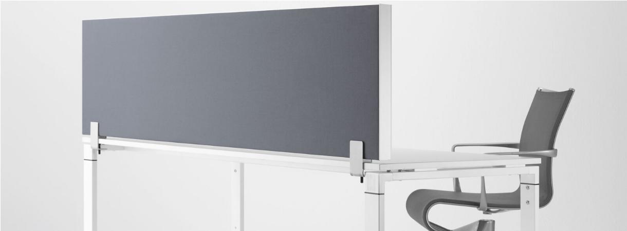 Preform Decato Schallschutzwand Schreibtischtrennwand Tischaufsatz