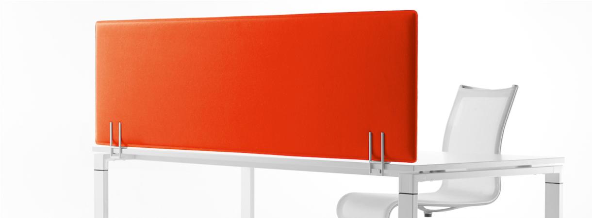 Preform Decampo Schallschutzwand Schreibtischtrennwand Tischaufsatz